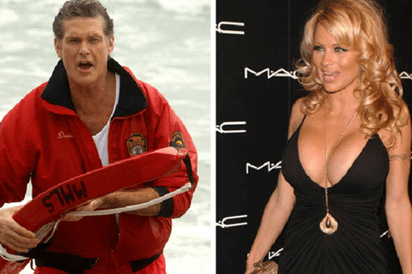 "David Hasselhoff is still gaga over Pamela Anderson's ""Baywatch"" performance!"