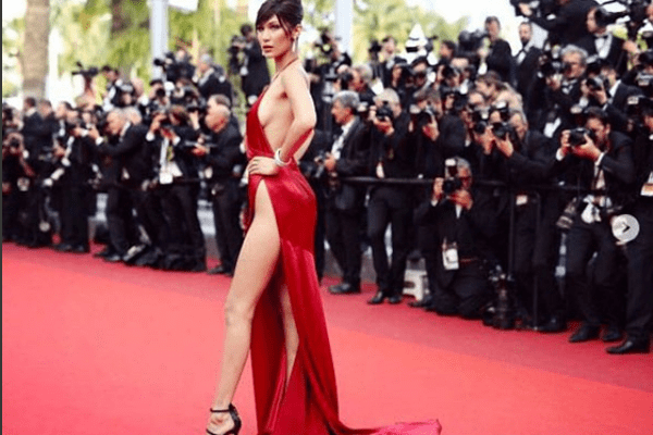 Wardrobe Malfunctioning and Bella Hadid- a close affair at Cannes