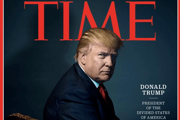 Celebrities bash Donald Trump's Time Person of the year