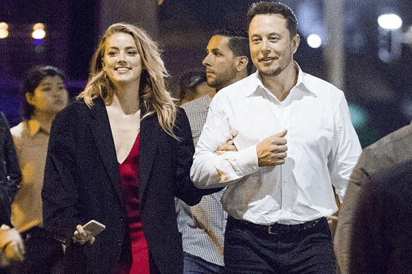 Amber Heard and Elon Musk spotted together celebrating holiday season in Chile!