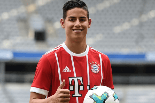 James Rodriguez Stats, Age, Salary, Bayern Munich