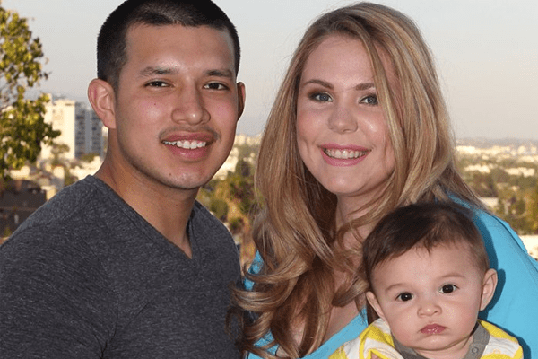 Kailyn Lowry & Javi Marroquin with son Lincoln