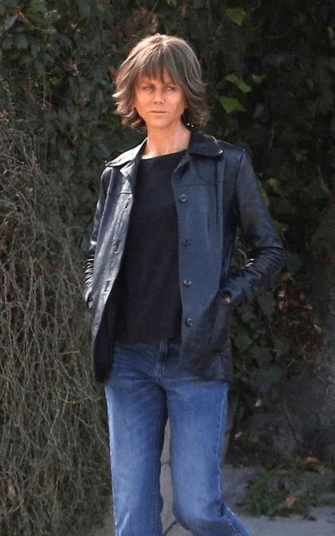 Nicole Kidman Tomboy look while filming her movie Destroyer in Los Angeles