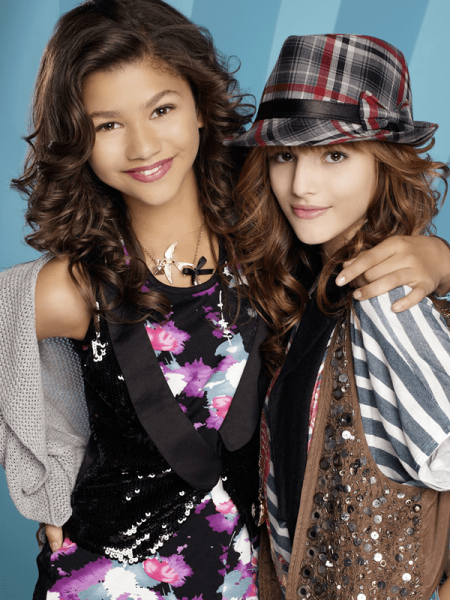 Rocky (Zendaya) and Cece(Bella Thorne) style in Shake it up