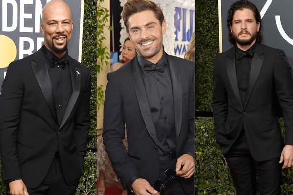 Golden Globe 2018: Men in Black