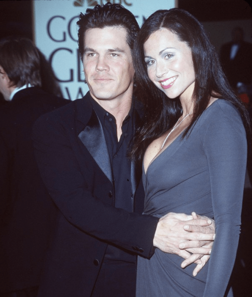 Minnie and ex-boyfriend Josh Brolin