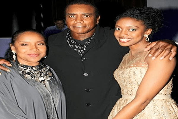 Ahmad Rashad with Ex- wife Phylicia Rashad and Daughter Condola Phylea Rashad