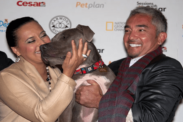 cesar-millan-with-her-ex-wife