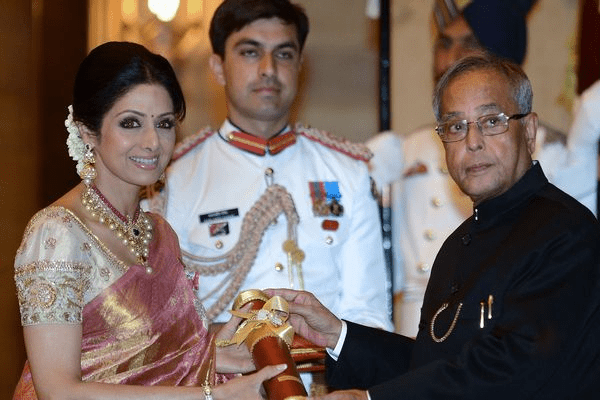 Sridevi awarded Padma Shree award