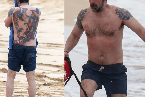 Worst Celebrity Tattoos Ben Affleck's Tattoo