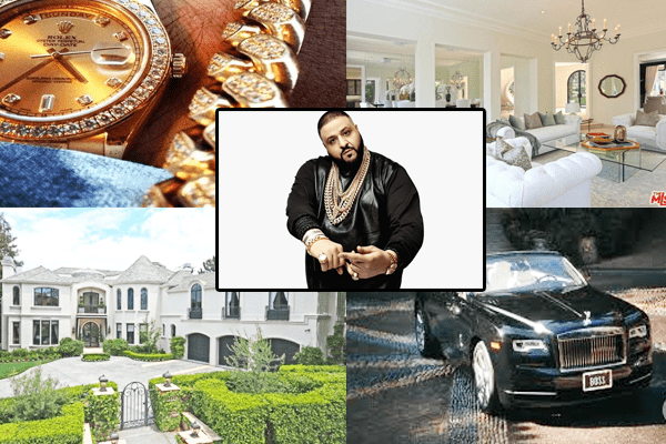 Net Worth of DJ Khaled 2018 | LA Mansion Car Collection and Fortune