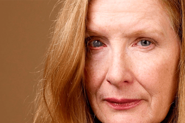 Frances Conroy's eyes
