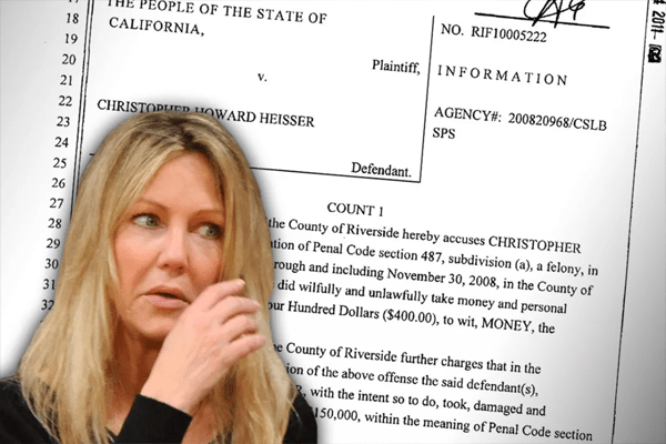 Heather Locklear criminal charge.