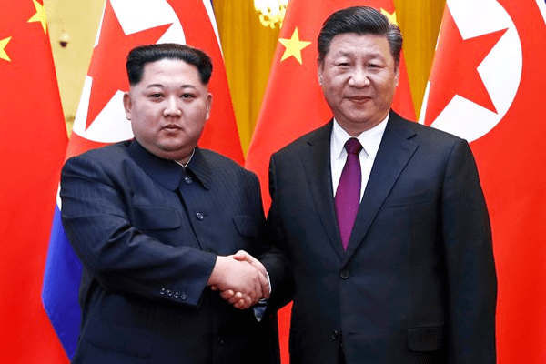 Kim Jong Un meets Chinese President during his Unofficial China Visit
