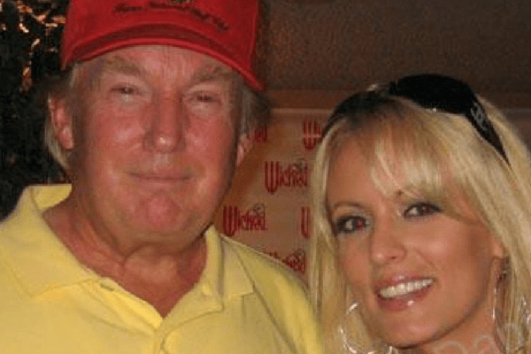 Stormy Daniels claims Trump paid $130,000 to stay hush. They had an affair!