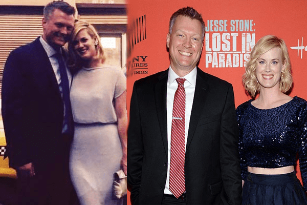 Abigail Hawk's Husband Bryan Spies Married life since 2009. Happy Family