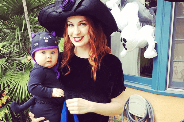 Felicia Day's Daughter is supernatural