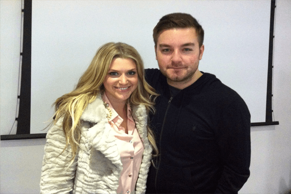 Lynsey Brooker and Husband Alex Brooker wedding.