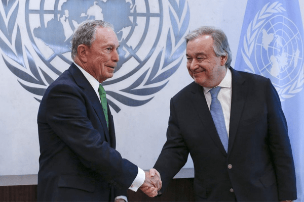 Mike Bloomberg to pay 4.5 million for Paris Climate deal