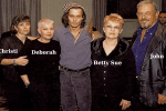 Johnny Depp's Siblings and Parents, Debbie Depp, Daniel, and Christi Dembrowski