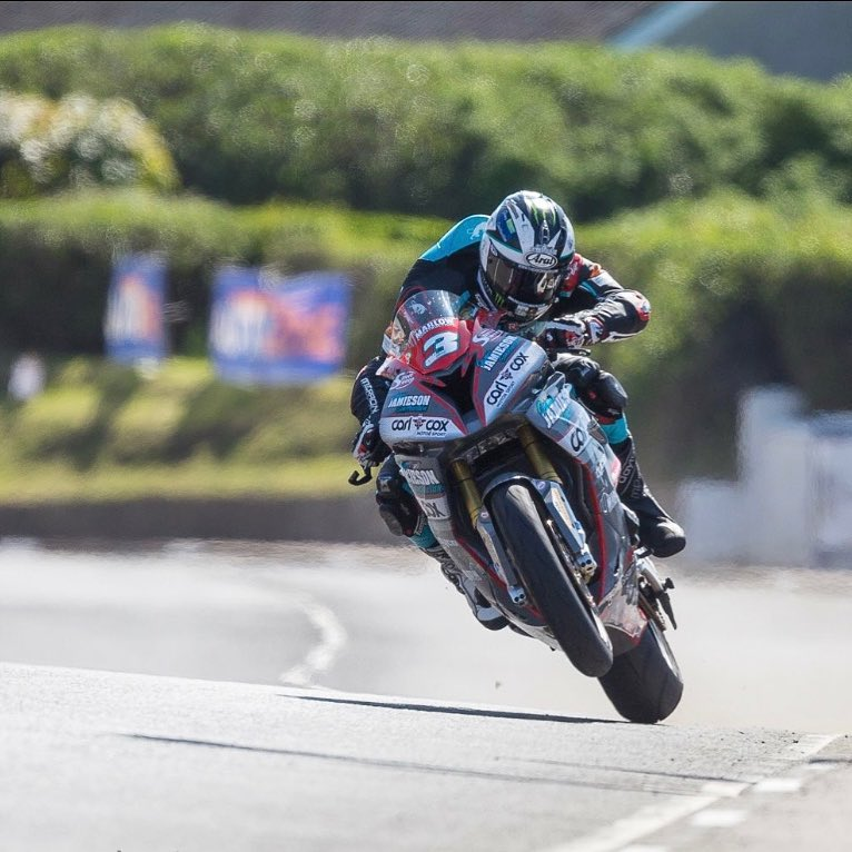 Michael Dunlop races MD Racing