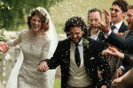 (John Snow) Kit Harrington and Rose Leslie GOT Married in Scottish Style