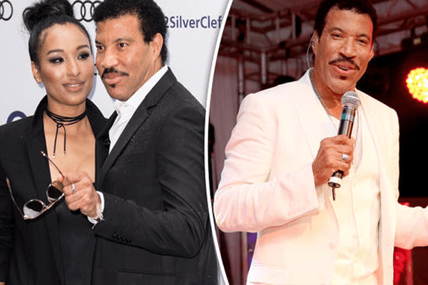 Lisa Parigi & Boyfriend Lionel RIchie