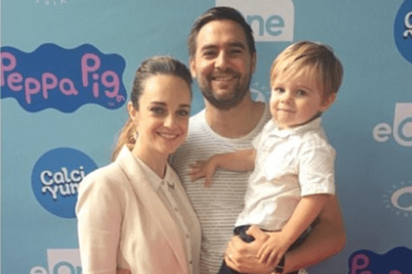 Matt Tooker, husband of Penny McNamee left career for son Jacck