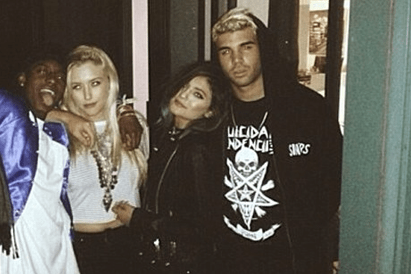 Miles Brockman Richie's ex-girlfriend Kylie Jenner