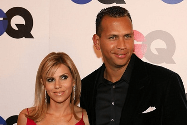 Cynthia Scurtis and ex-husband Alex Rodriguez.