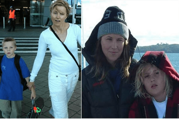 Lucy Lawless's two sons