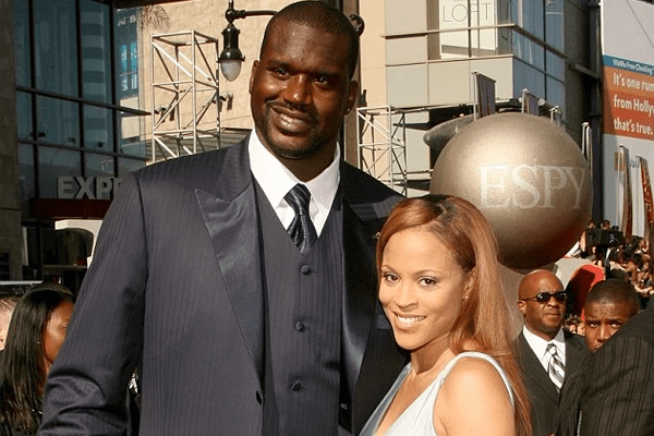 Shaunie O'Neal and her ex-husband Shaquille O'Neal