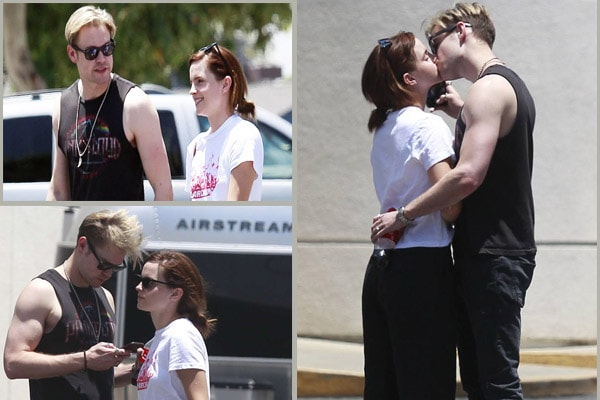 Is Emma Watson and Chord Overstreet Dating Again? Caught Kissing Her Boyfriend