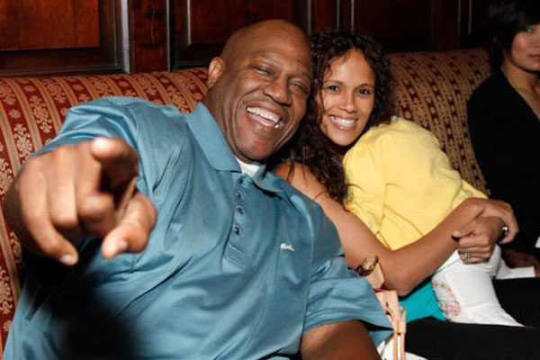 Felicia Forbes husband Tommy 'Tiny' Lister and daughter, Faith
