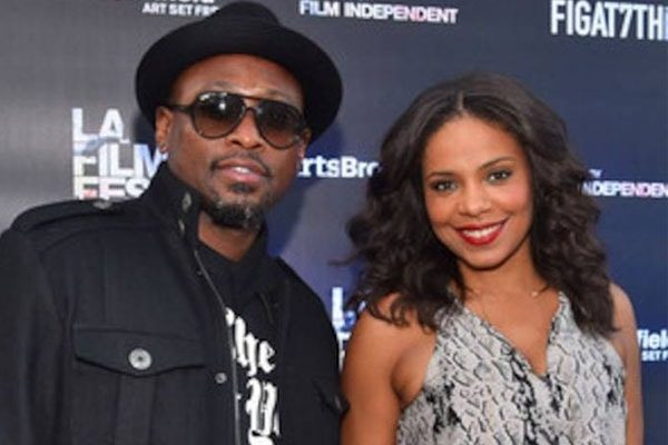 Sanaa Lathan Omar Epps met in a reunion