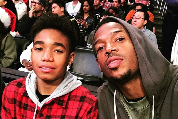 Meet Shawn Howell Wayans – Marlon Wayans' Son With Wife Angelica Zachary
