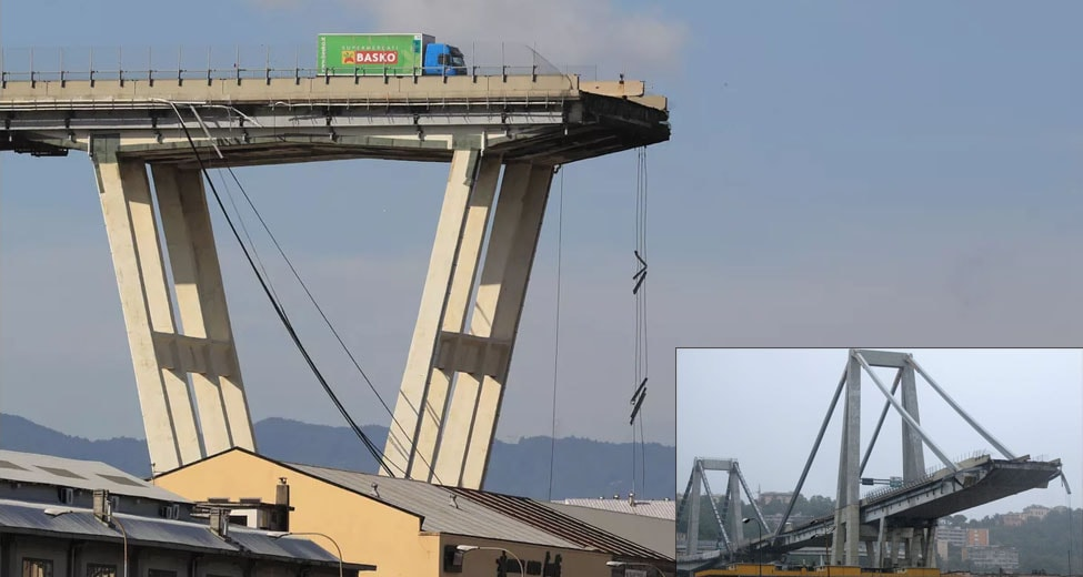 Morandi Bridge in Italy Collapsed. Death Toll Reaches 31 and 18 Injured