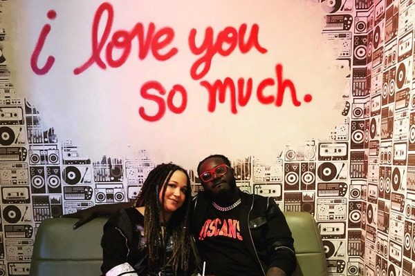 T-Pain's wife, Amber Najm, Instagram Post