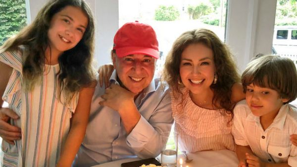 Thalia Kids with Tommy Mottola Sabrina Sakae Matthew