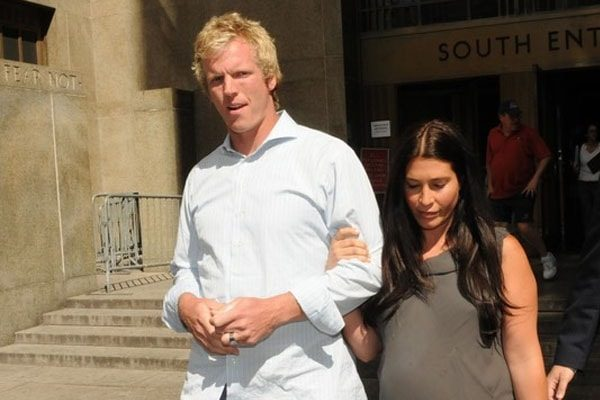 Chris Simms and Wife