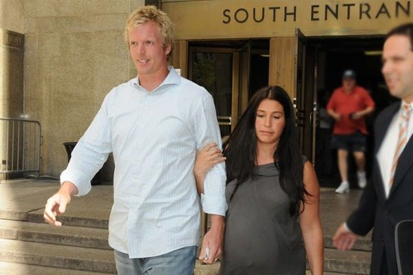 Danielle Marie with Husband Chris Simms