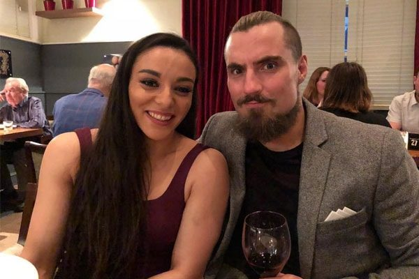 The Power Couple Deonna Purrazzo and Marty Scrull