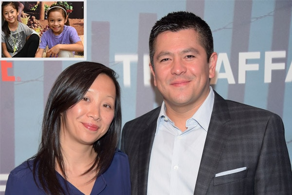 Meet Judy Chung – CNBC's Carl Quintanilla's Asian Wife and Mother of Twin Daughters