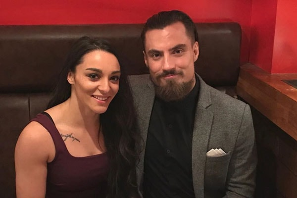 Marty Scrull and Girlfriend Deonna Purrazzo Wants to Stay Low-Profile but Can't