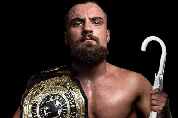 Marty Scurll, a wrestler of NJPW