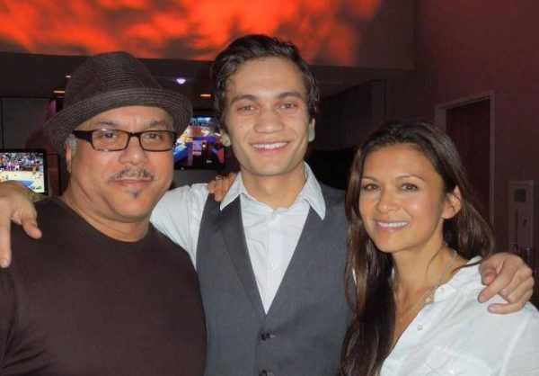 Nia Peeples and Howard Hewett