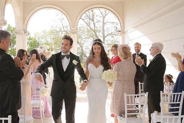 Daniella Semaan's Wedding With Husband Cesc Fabregas. She is 12 Years Older Than Him