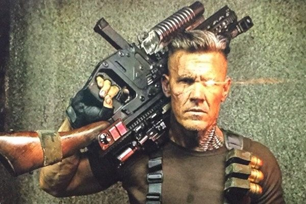 Josh Brolin starred the role of Cable in the 2018's movie Deadpool 2.