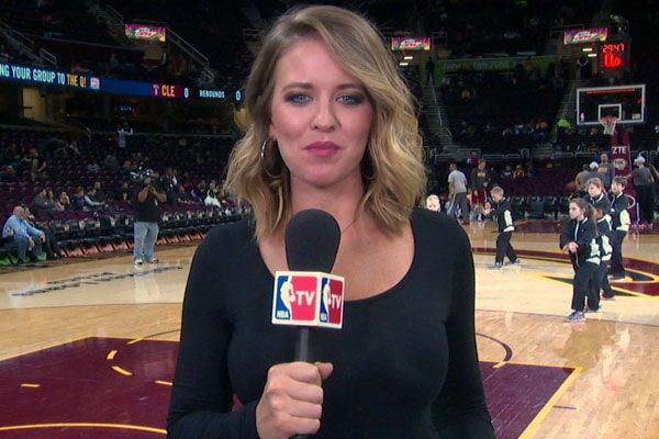 Kristen Ledlow lives a happy life