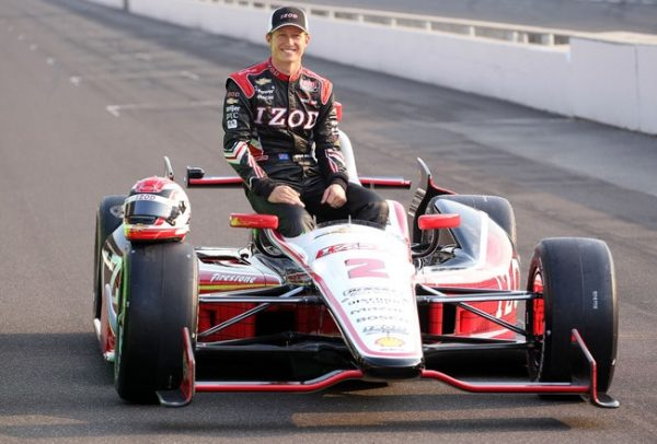 Ryan Briscoe owns different brands of cars